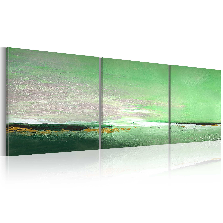 Quadro dipinto - Costa acquamarina150x50 150X50 cm