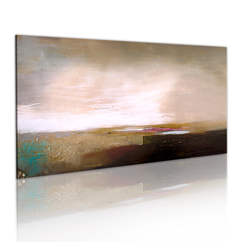 Quadro dipinto - Dopo la tempesta 120X60 cm