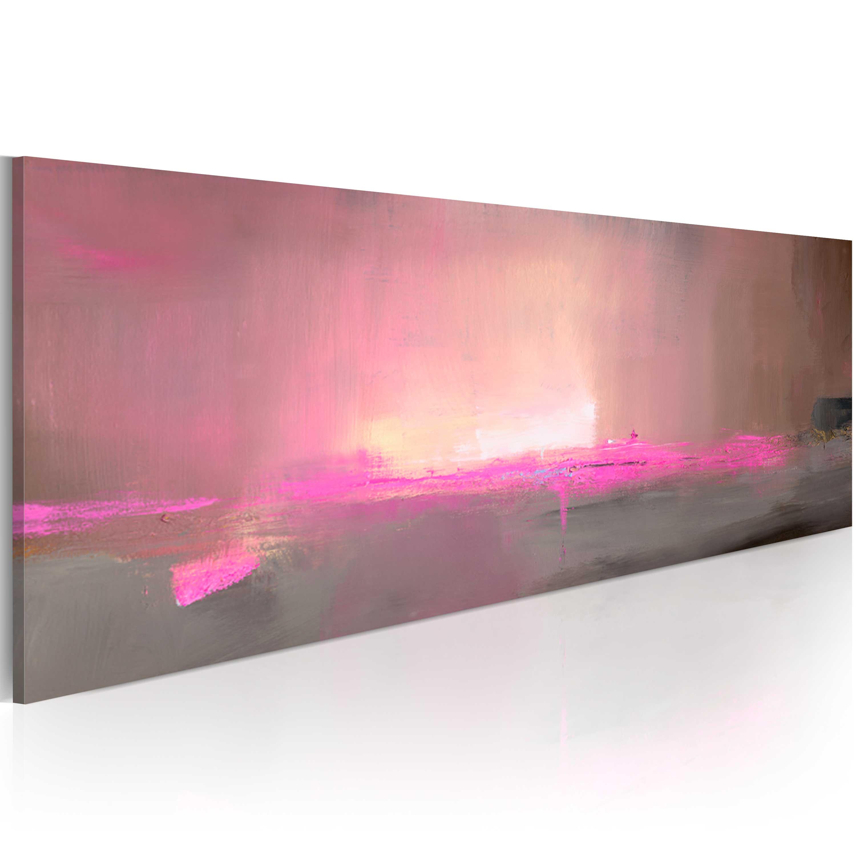 Quadro dipinto - In direzione della luce 100X40 cm
