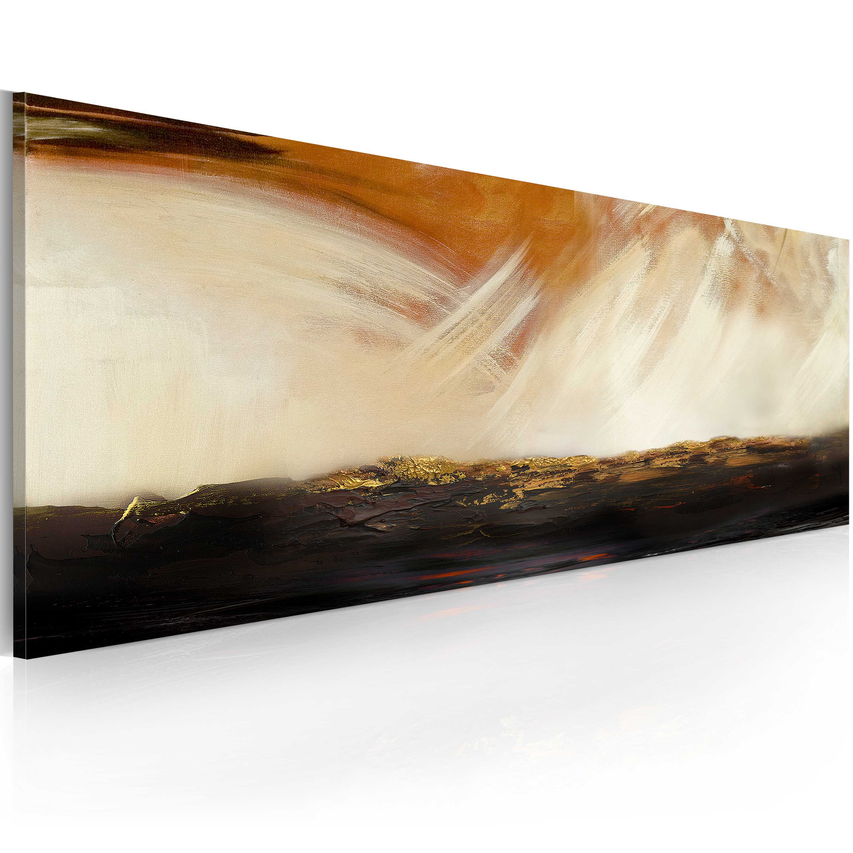Quadro dipinto - Burrasca 100X40 cm
