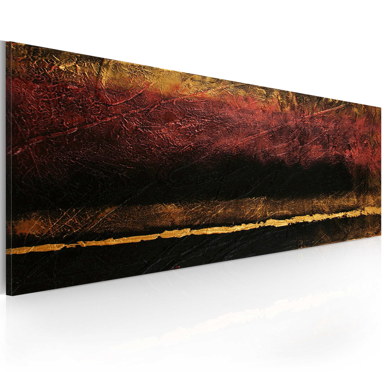 Quadro dipinto - Fine del mondo 100X40 cm