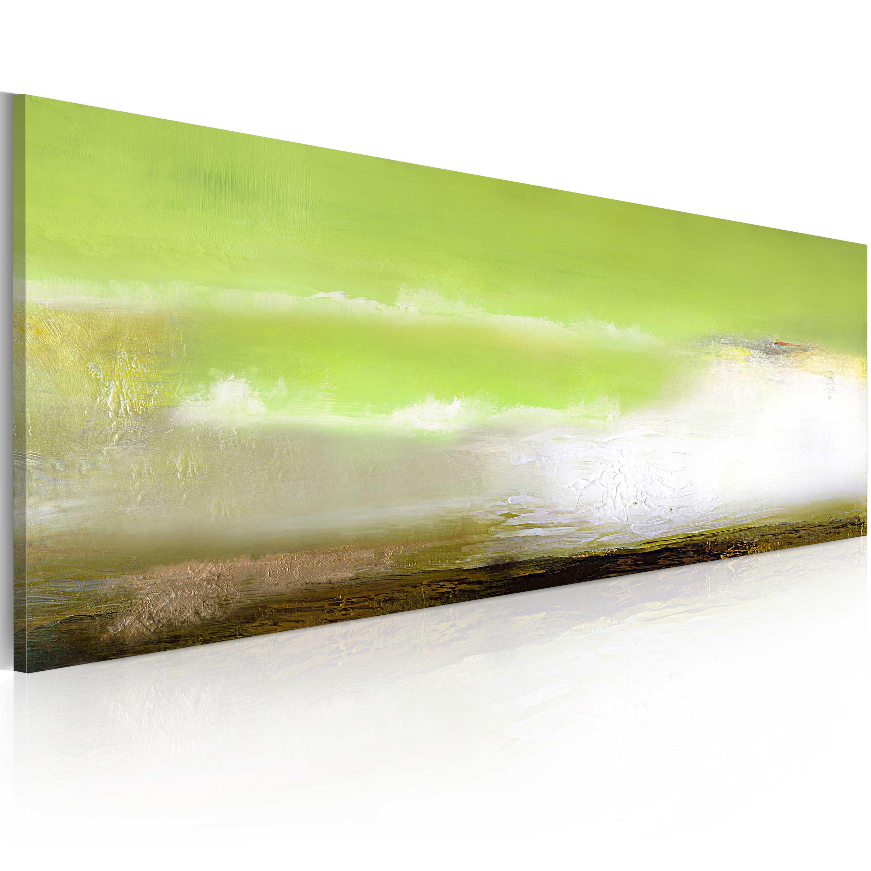Quadro dipinto - Schiuma marina 100X40 cm