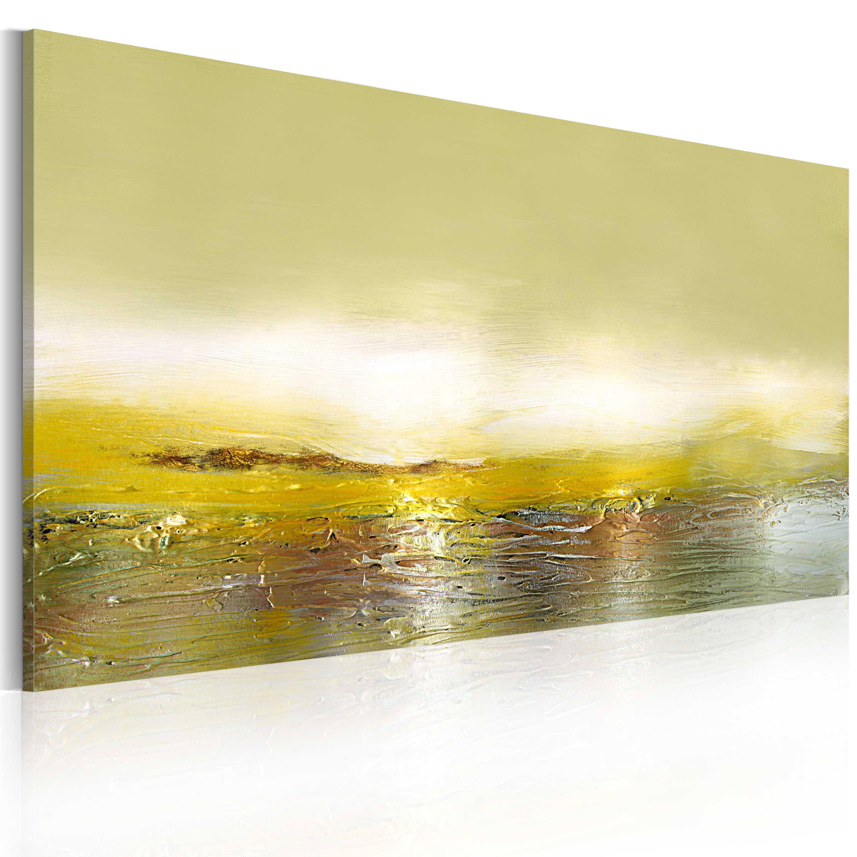 Quadro dipinto - L'onda che sta arrivando 120X60 cm