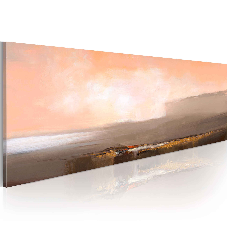 Quadro dipinto - Contrasto di colore 100X40 cm