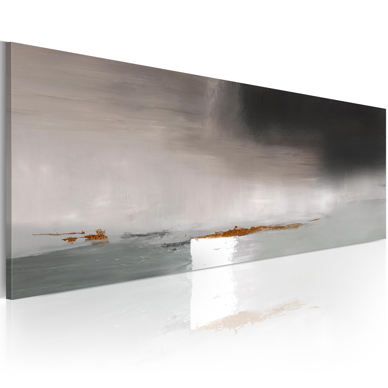 Quadro dipinto - Grigiore significativo 100X40 cm