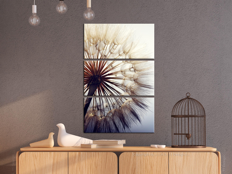 Wandbilder xxl pusteblume leinwand bilder wohnzimmer for Schlafzimmer bilder leinwand