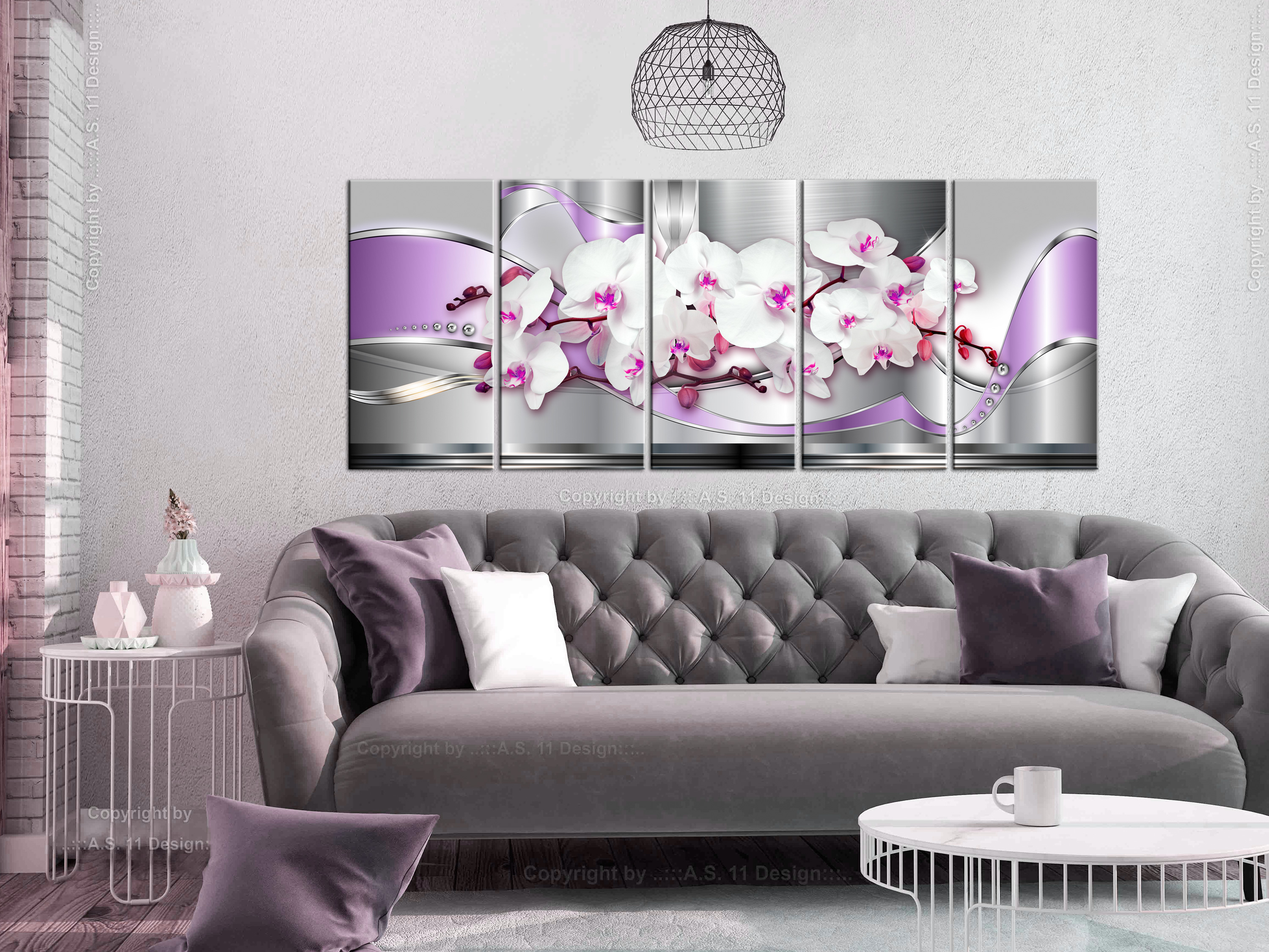 wandbilder xxl blumen orchidee abstraktes leinwand bild wohnzimmer b c 0195 b n ebay. Black Bedroom Furniture Sets. Home Design Ideas
