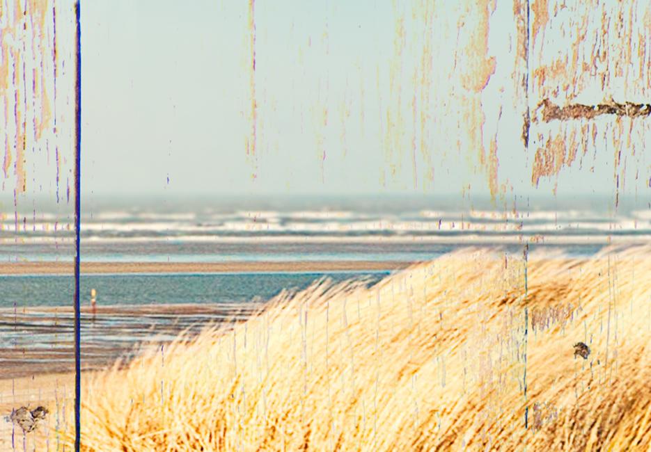 MEER STRAND LANDSCHAFT HOLZ Wandbilder xxl Bilder Vlies Leinwand c-C-0029-b-n