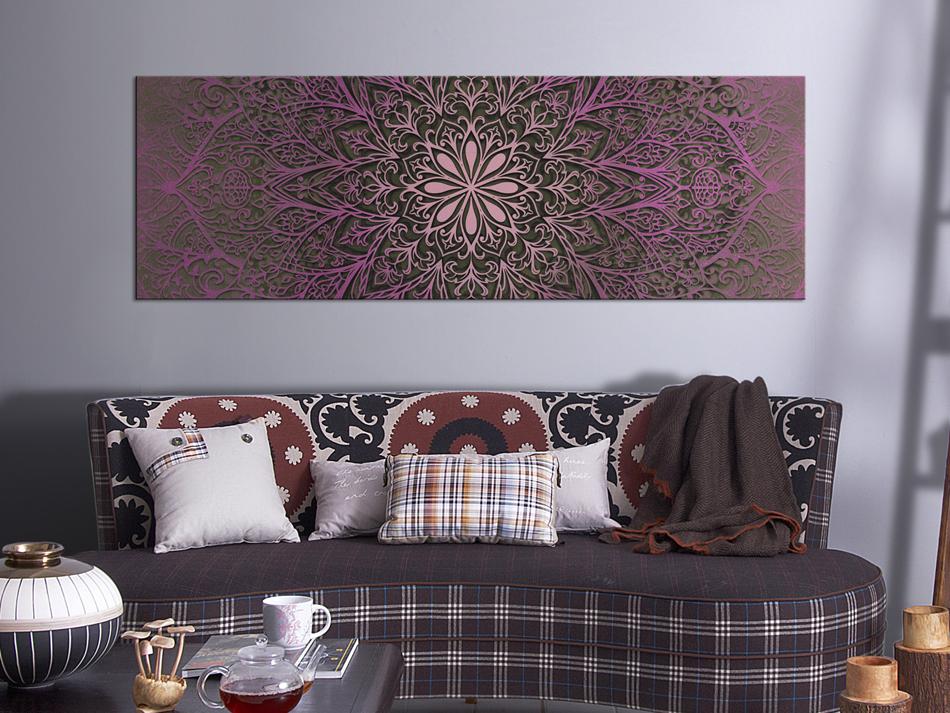 Wandbilder Wohnzimmer Leinwand ~ Wandbilder mandala leinwand bilder xxl ornamente wohnzimmer orient