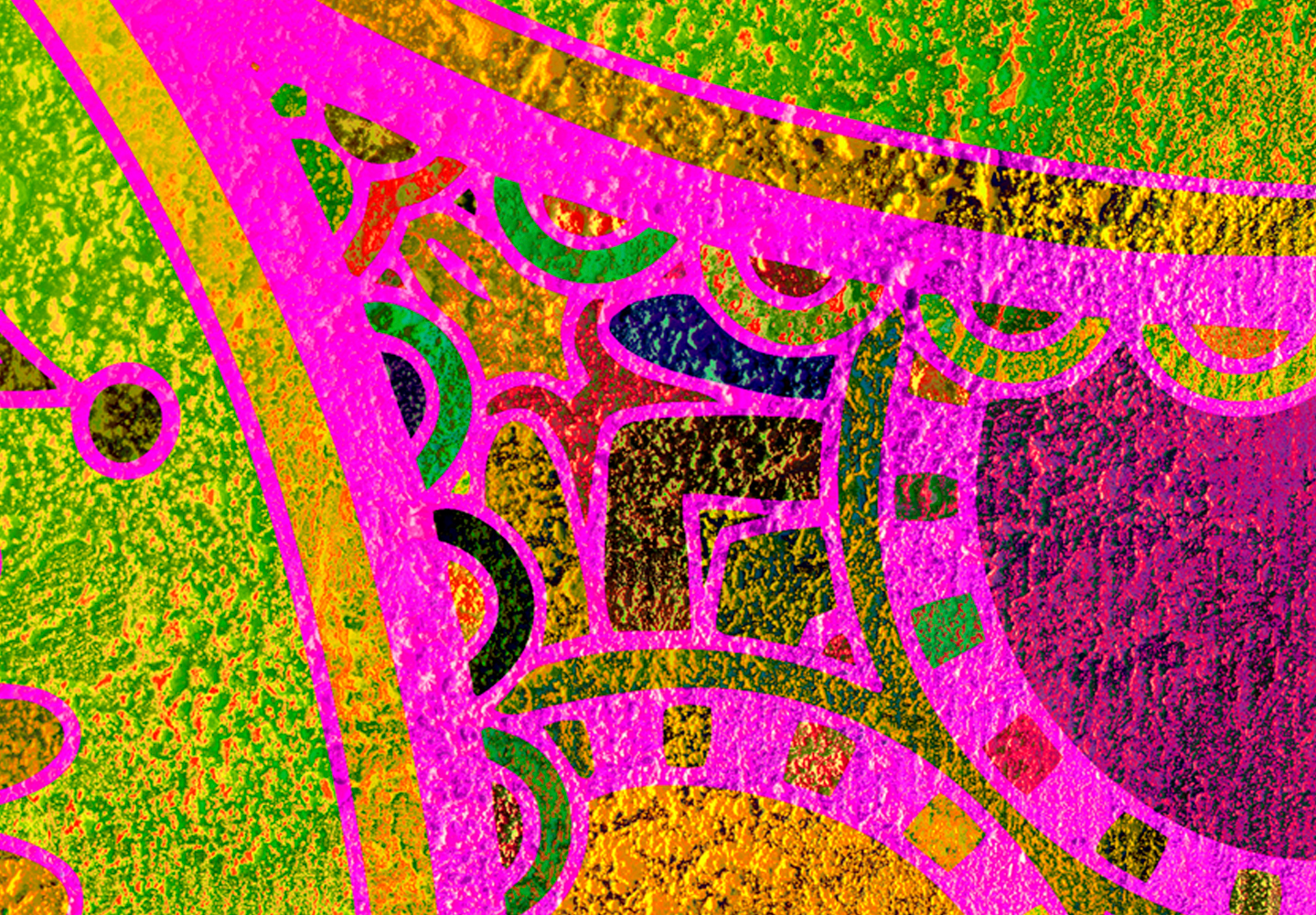 abstrakt mandala ethno bunt wandbilder xxl bilder vlies