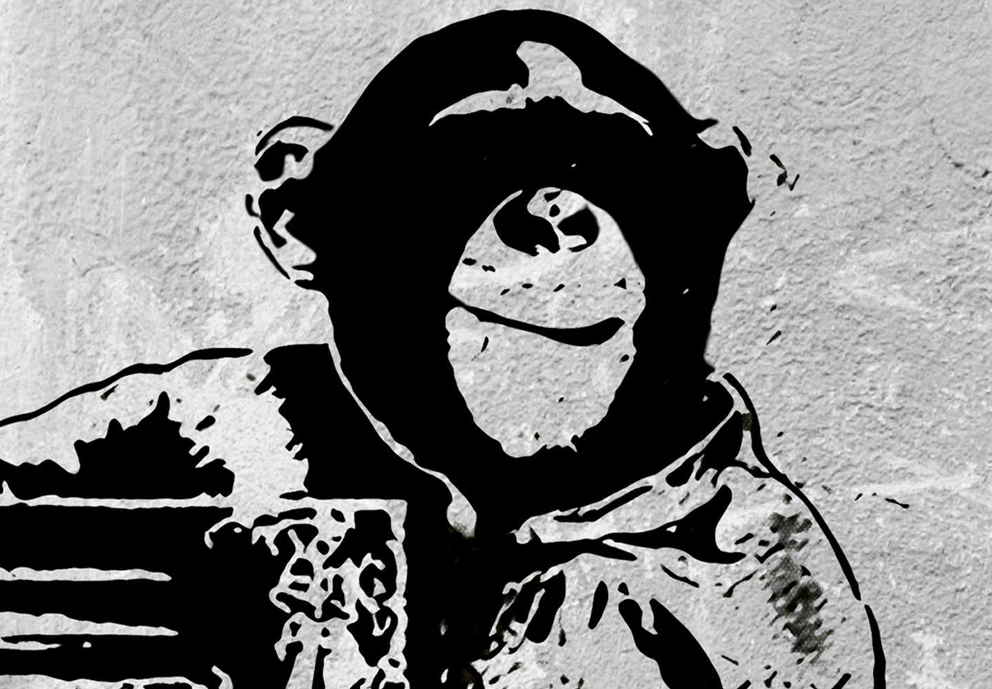 Canvas Print Banksy Framed Wall Art Picture Photo Image i-C-0104-b-a