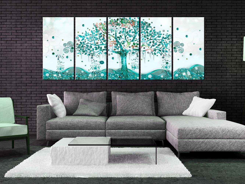 Wandbilder Xxl Baum Des Lebens Klimt Leinwand Bilder