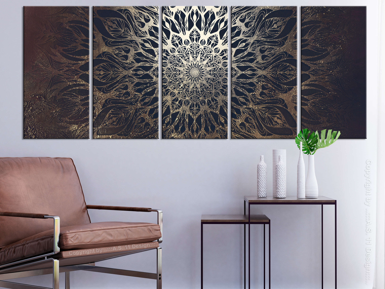 mandala orient wandbilder xxl designer leinwand bilder