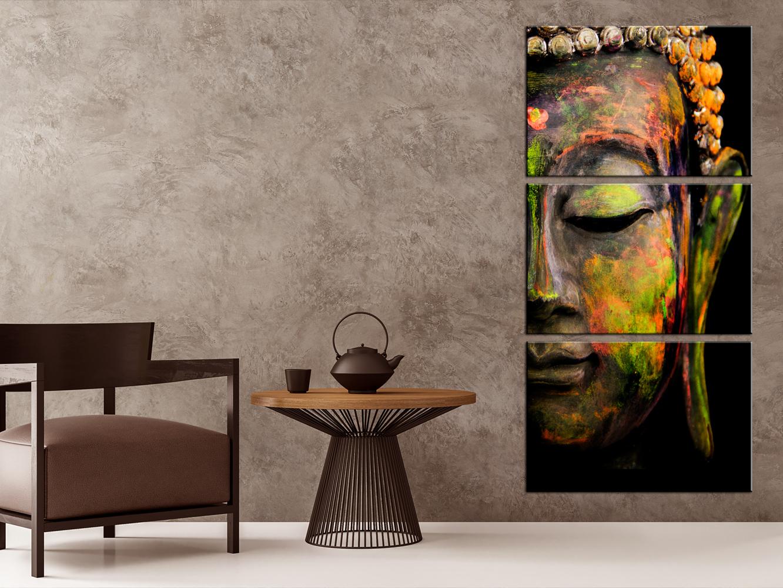 Awesome leinwand f r wohnzimmer contemporary for Buddha deko wohnzimmer