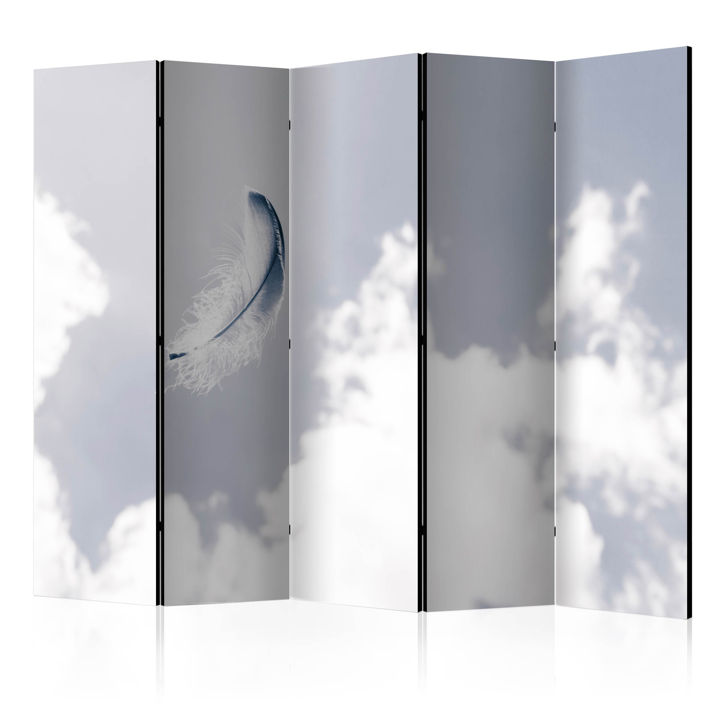 Paravento - Angelic Feather II [Room Dividers] 225X172 cm
