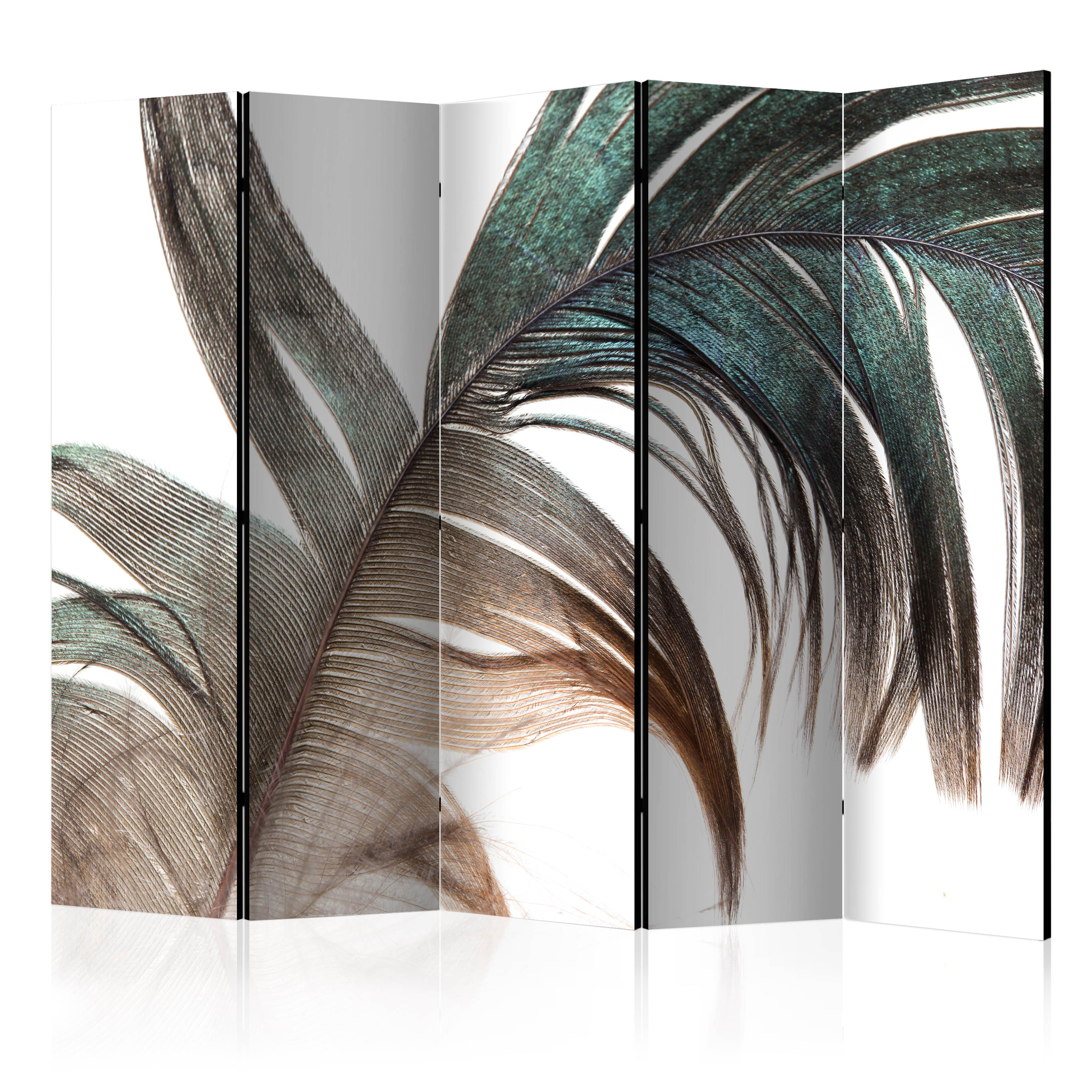 Paravento - Beautiful Feather II [Room Dividers] 225X172 cm
