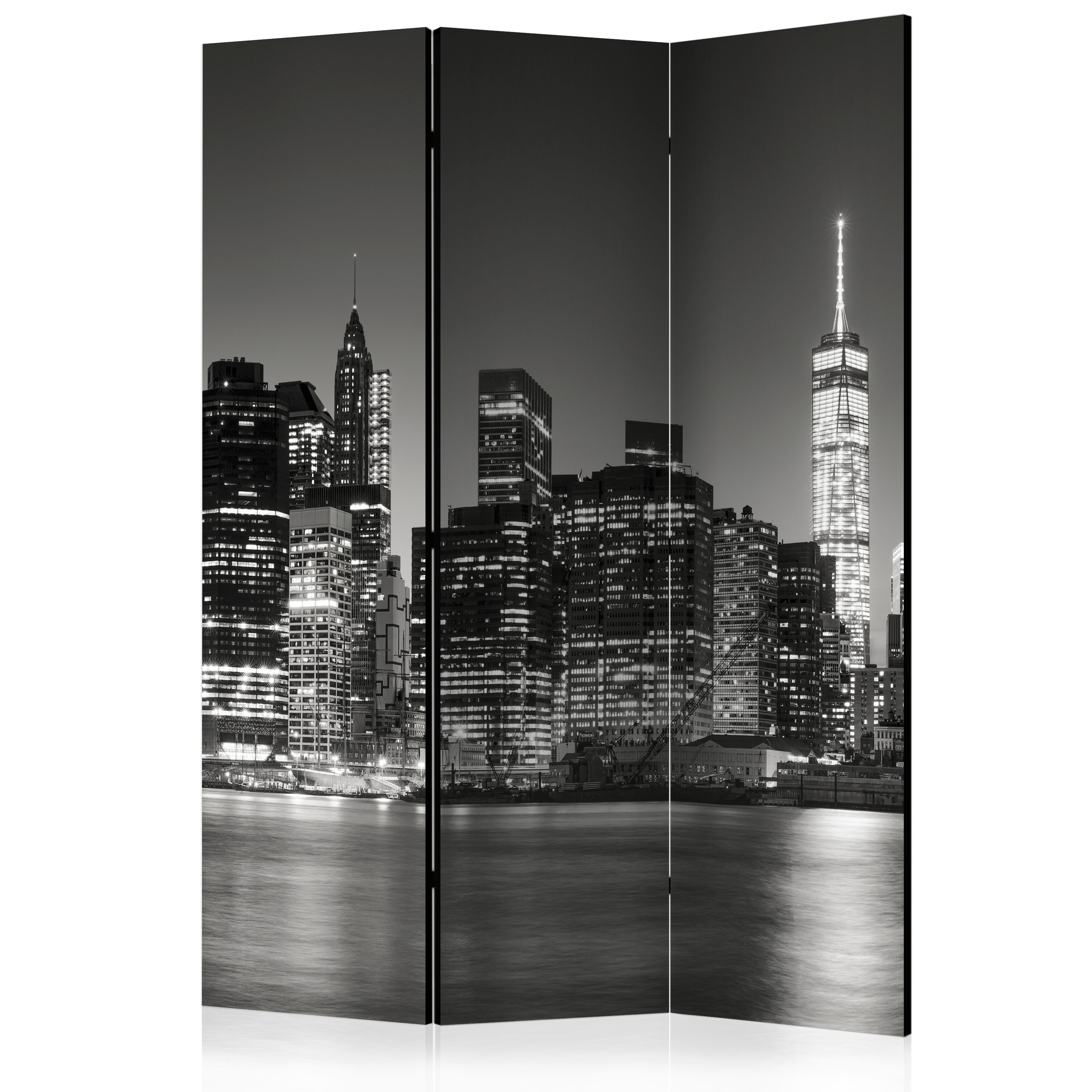 DECORATIVE PHOTO FOLDING SCREEN WALL ROOM DIVIDER NEW YORK 2 SIZES