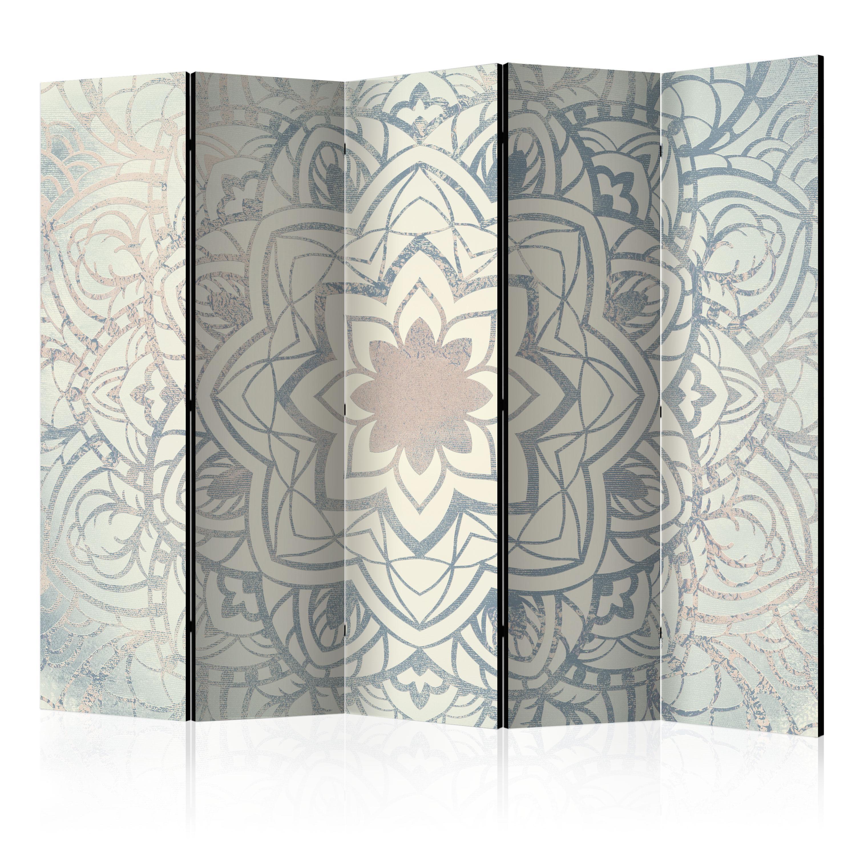 Paravento - Paravento: Mandala d'inverno II 225X172 cm