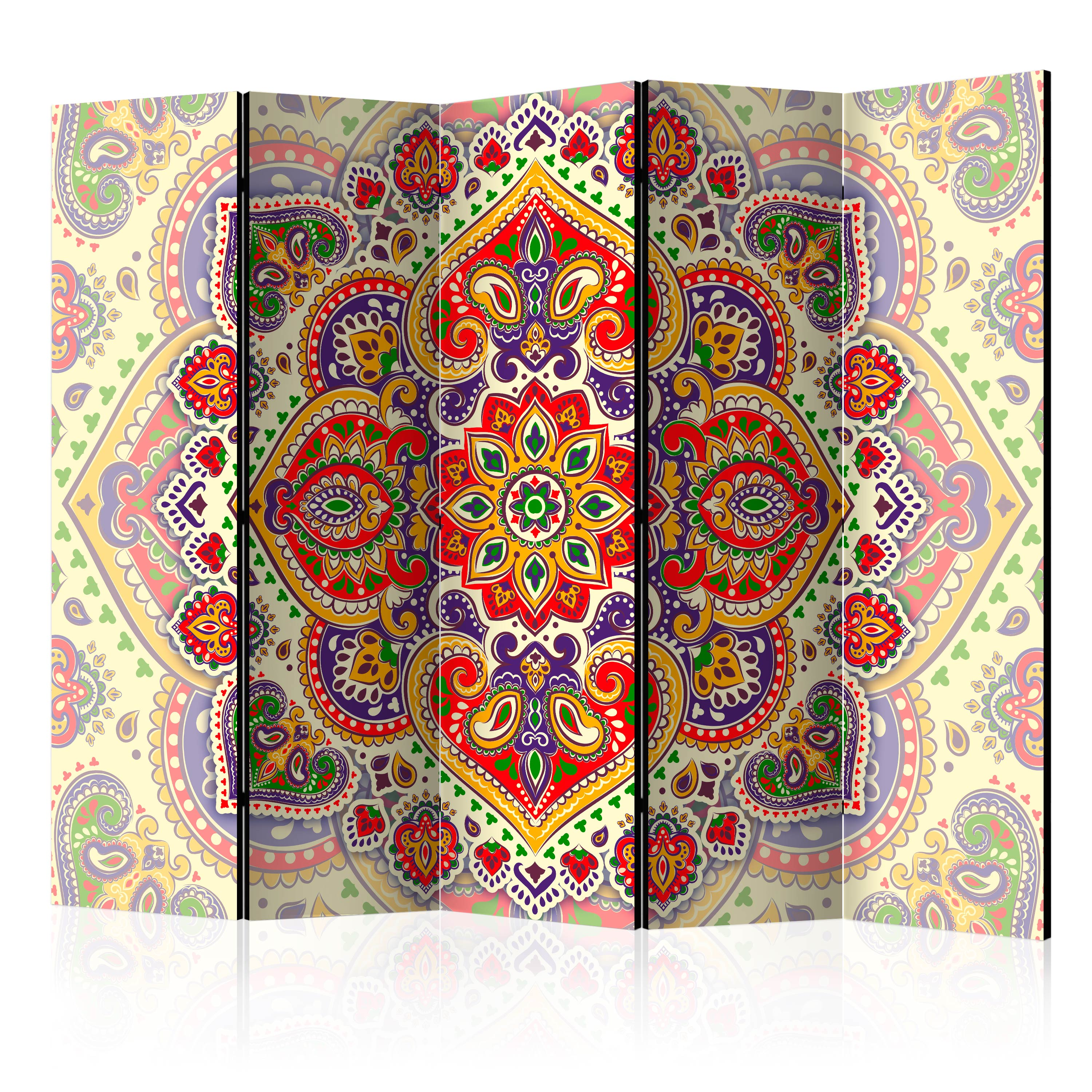 Paravento - Unusual Exoticism II [Room Dividers] 225X172 cm