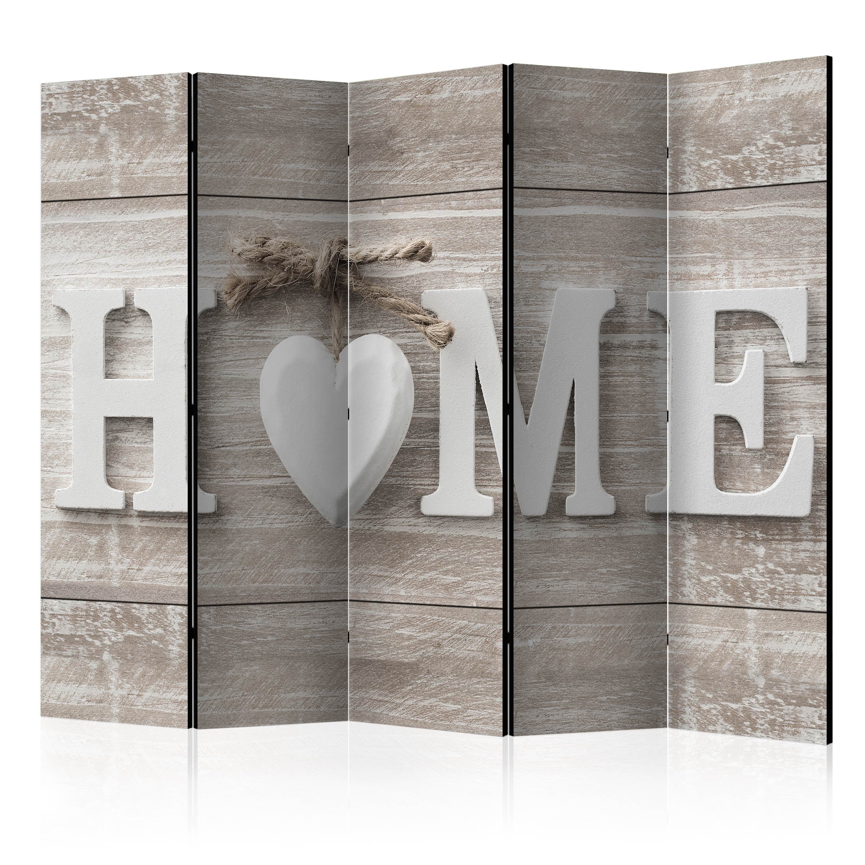 Paravento - Room divider - Home and heart 225X172 cm