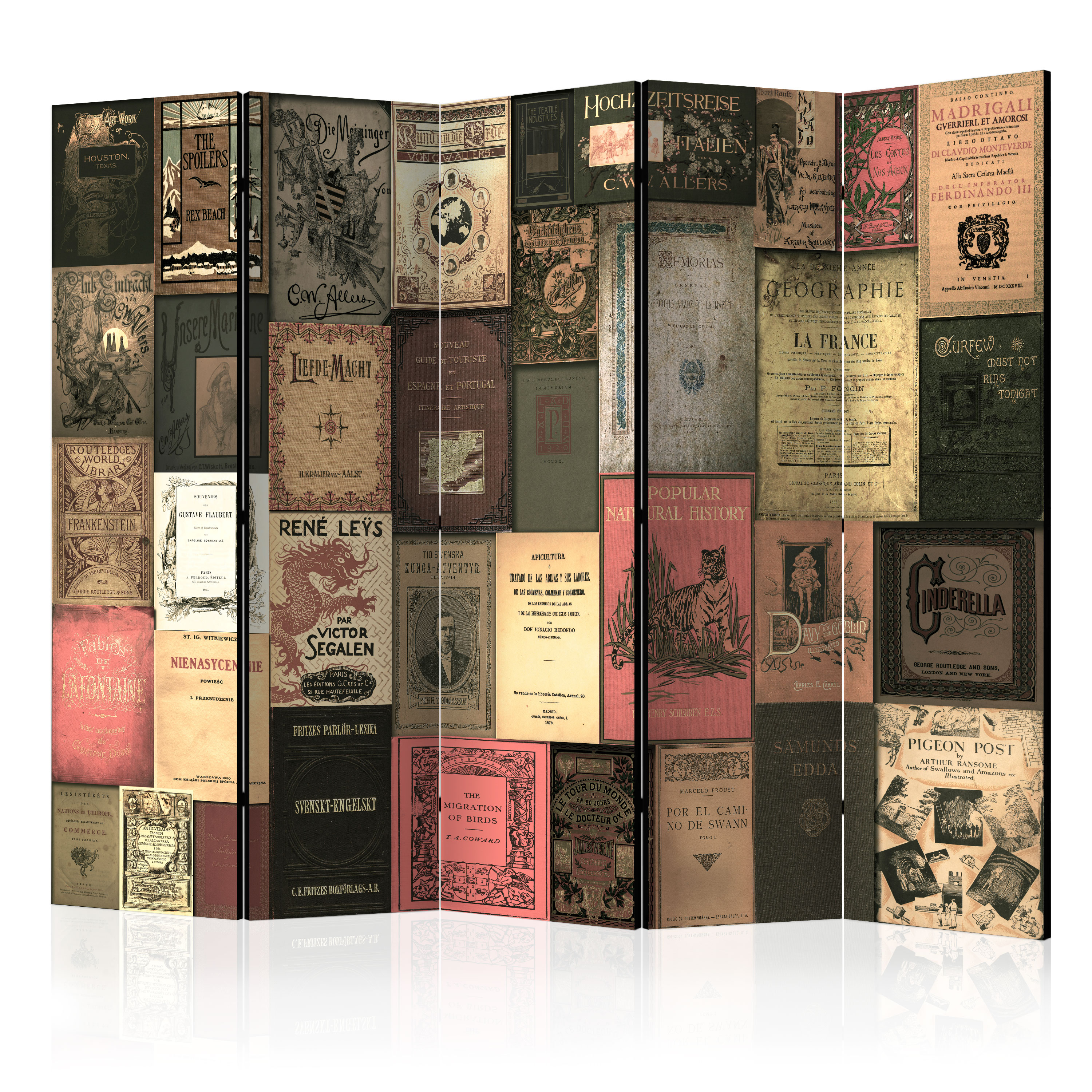 Paravento - Books of Paradise II [Room Dividers] 225X172 cm