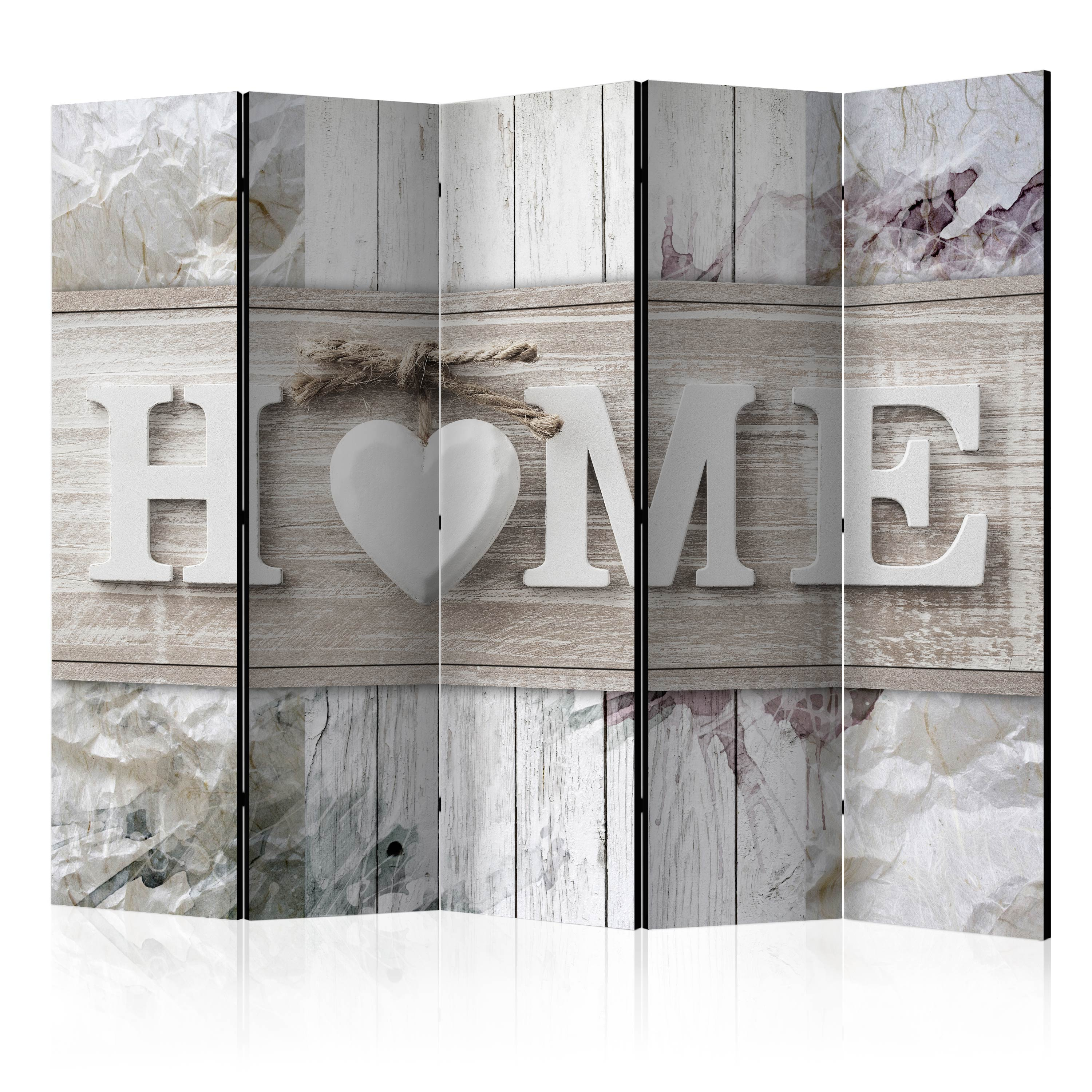 Paravento - Room divider – Inscription Home 225X172 cm
