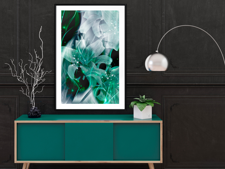Poster mit Rahmen Bilder gerahmte Wandbild Kunstdruck Bilderrahmen b-A-0410-ao-a