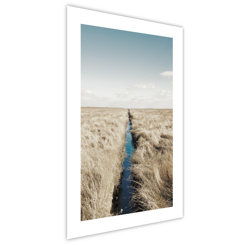 Poster mit Rahmen Bilder gerahmte Wandbild Kunstdruck Bilderrahmen n-A-0924-ao-a