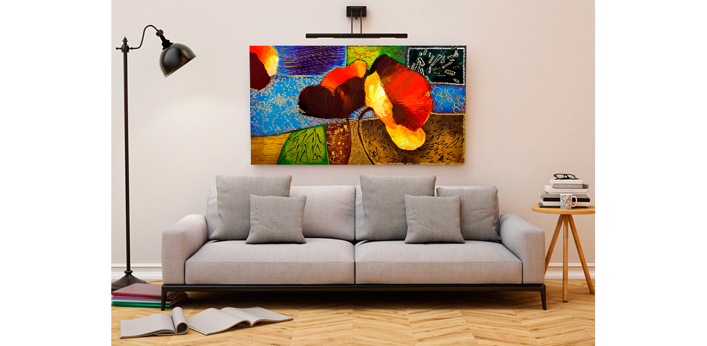 tableau en plusieurs parties. Black Bedroom Furniture Sets. Home Design Ideas